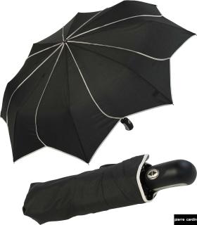 Damen Taschenschirm Pierre Cardin Auf-Zu-Automatik - Sunflower - schwarz