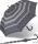 Stockschirm Kinematic groß stabil windfest mit Automatik - polka dots