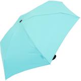 Doppler Regenschirm Damen Mini Taschenschirm Handy klein super-leicht stabil aqua