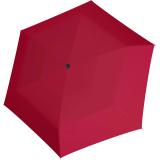 Doppler Mini Slim Damen Taschenschirm - extrem flach - uni very berry