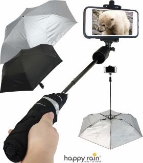 Regenschirm Selfie Stick Bluetooth -Mini Taschenschirm UV-Protection