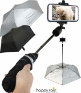 Regenschirm Selfie Stick Bluetooth -Mini Taschenschirm...