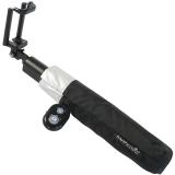 Regenschirm Selfie Stick Bluetooth -Mini UV-Protection Taschenschirm schwarz