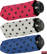 Damen Super Mini Taschenschirm Derby Hit Micro - Dots...