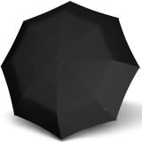 Knirps Taschenschirm T.220 Duomatic Safety - leicht, stabil und sturmfest schwarz