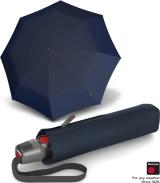 Knirps Taschenschirm T.220 Duomatic Safety - leicht, stabil und sturmfest navy
