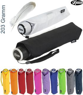 iX-brella Mini Ultra Light - Damen Taschenschirm mit großem Dach - extra leicht