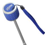 iX-brella Mini Ultra Light - Damen Taschenschirm mit großem Dach - extra leicht - blau