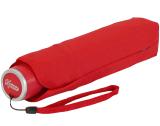 iX-brella Mini Ultra Light - Damen Taschenschirm mit großem Dach - extra leicht - rot