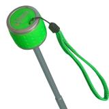 iX-brella Mini Ultra Light - Damen Taschenschirm mit großem Dach - extra leicht - neon grün