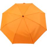 iX-brella Mini Ultra Light - Damen Taschenschirm mit großem Dach - extra leicht - neon orange