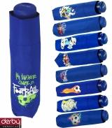 Kinderschirm Jungen Mini Taschenschirm light Kids blau