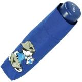 Kinderschirm Jungen Mini Taschenschirm light Kids blau - boy