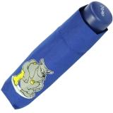 Kinderschirm Jungen Mini Taschenschirm light Kids blau - dog