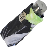 M&P Super-Mini Damen Taschenschirm klein leicht mit extra großem Dach - Tropic night