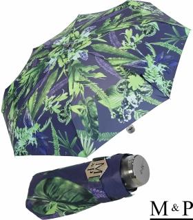 M&P Super-Mini Damen Taschenschirm klein leicht mit extra großem Dach - Tropic purple