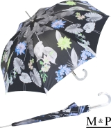 M&P Damen Regenschirm Long stabil Automatik Tropic night