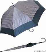Eleganter Regenschirm Damen Stockschirm Automatik von PERTEGAZ - Trenzado  flieder