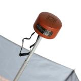 Edler Super Mini Taschenschirm Satin von PERTEGAZ - klein aber extra großes Dach - Trenzado gold