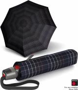 Knirps Taschenschirm T.200 Duomatic - stabil und sturmfest - Check black
