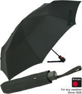 Knirps Regenschirm Fiber T1 AC black schwarz