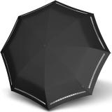 Knirps Taschenschirm T.200 Duomatic - stabil und sturmfest - Reflective black