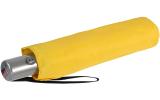Knirps Regenschirm Slim Duomatic - klein und leicht mit Auf-Zu Automatik - yellow
