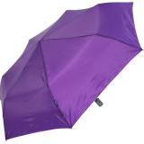 Knirps Regenschirm Slim Duomatic - klein und leicht mit Auf-Zu Automatik - royal purple