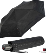 Knirps Regenschirm Slim Duomatic - klein und leicht mit...