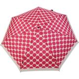 Knirps Regenschirm Slim Duomatic - klein und leicht mit Auf-Zu Automatik - Recife margherita