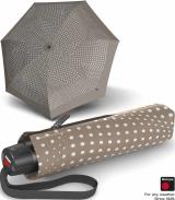 Knirps Super-Mini-Taschenschirm T.050 - klein und leicht bolero - taupe