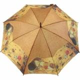 Stockschirm Künstlerschirm AutomatikArt Taifun Klimt - der Kuss klein