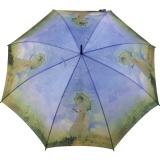 Stockschirm Künstlerschirm Automatik Art Taifun Monet - Frau mit Sonnenschirm