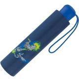 Scout Kinder-Taschenschirm mit reflektierenden Streifen Super Knights