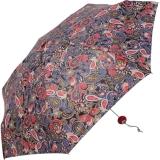 Mini Taschenschirm Damen Joy Heart klein und leicht - Paisley rot