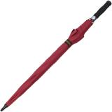 Großer Regenschirm Golfschirm XXL mit Automatik - 123 cm groß - rot
