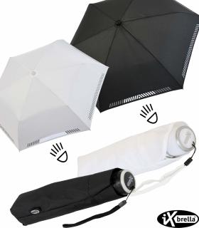 iX-brella Mini ultra light Taschenschirm Reflex Sicherheitsschirm - extra leicht