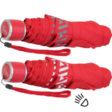 iX-brella Mini Kinderschirm Safety Reflex extra leicht - rot