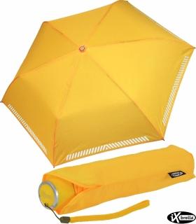iX-brella Mini Kinderschirm Safety Reflex extra leicht - gelb