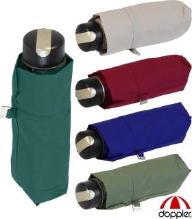 Doppler Damen Taschenschirm Carbonsteel Mini XS  klein und leicht