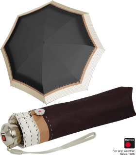 Knirps Regenschirm Automatik - Minimatic SL sturmsicher - Border black