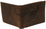 LandLeder Scheintasche mit Druckknopf-Innenfach BULL & SNAKE mit RFID Schutz