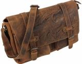 LandLeder Umhängetasche Postbag BULL & SNAKE