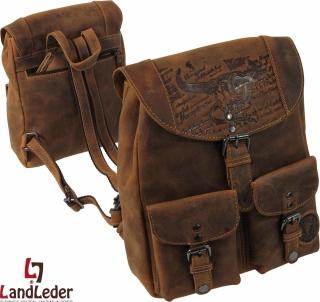 LandLeder City-Rucksack BULL & SNAKE