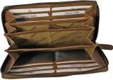 LandLeder 5 tlg Kuvertbörse PINCH OF WAX mit RFID Schutz - natur