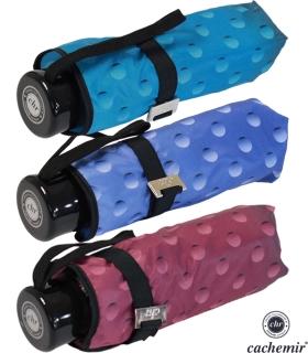 Cachemir Regenschirm Taschenschirm mini stabil sturmsicher Dots