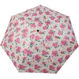 Cachemir Regenschirm Taschenschirm mini stabil sturmsicher Printed Flowers - pink