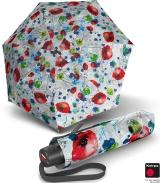 Knirps Super-Mini-Taschenschirm T.050 - klein und leicht Thalassa - white