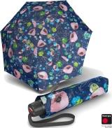 Knirps Super-Mini-Taschenschirm T.050 - klein und leicht Thalassa - blue