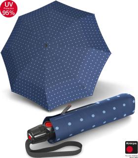 Knirps Taschenschirm T.200 Duomatic - stabil und sturmfest - UV Protection Kelly - blue